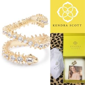 Kendra Scott beck snake ring Sz8